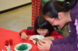polar express craft w mom